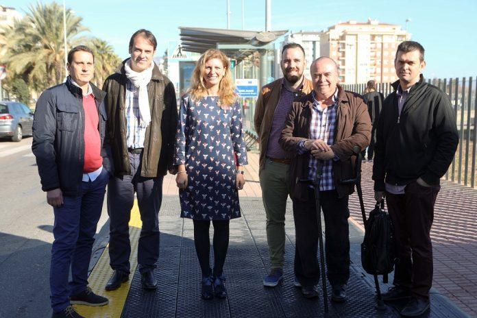 alcaldesa castello amparo marco millora parades autobus