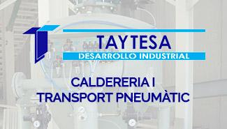 Calderería y transporte neumático